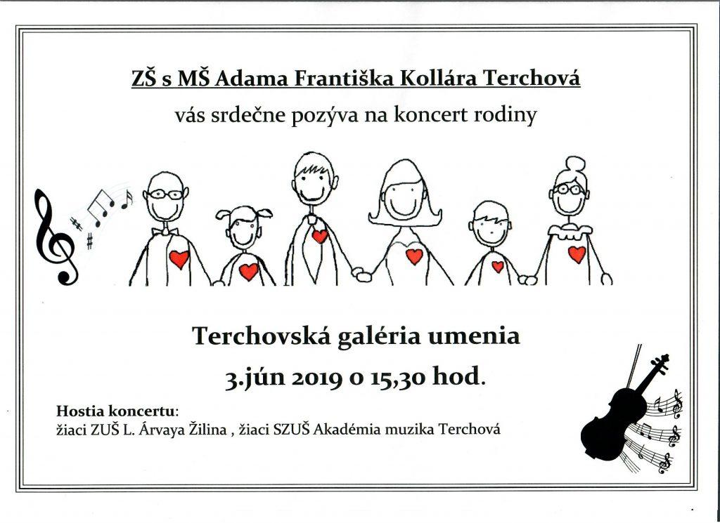 Koncert rodiny